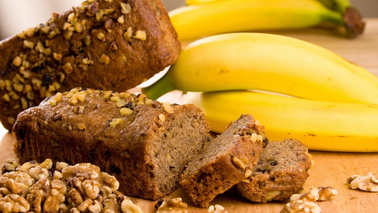 Olvídate de la masa madre y hornea pan de banano